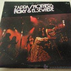 Discos de vinilo: FRANK ZAPPA & THE MOTHERS ( ROXY & ELSEWHERE ) DOBLE LP33 USA-1974 WARNER BROS RECORDS. Lote 38452224