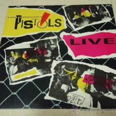 Discos de vinilo: THE ORIGINAL PISTOLS ( LIVE ) 'RECORDED LIVE IN 1976 ART BURTON EN TRENT' ENGLAND-1985 LP33 . Lote 38459156