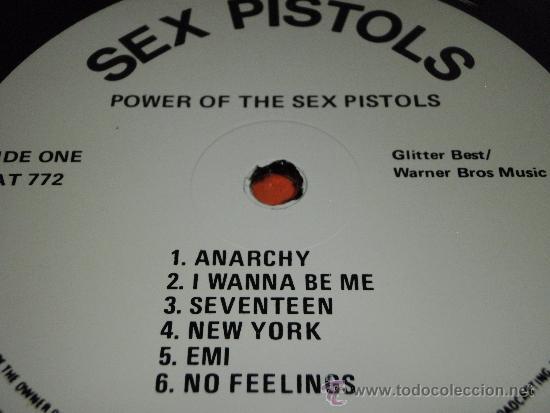 Discos de vinilo: SEX PISTOLS ( POWER OF THE SEX PISTOLS ) ENGLAND-1985 LP33 WARNER BROS MUSIC - Foto 3 - 38459255