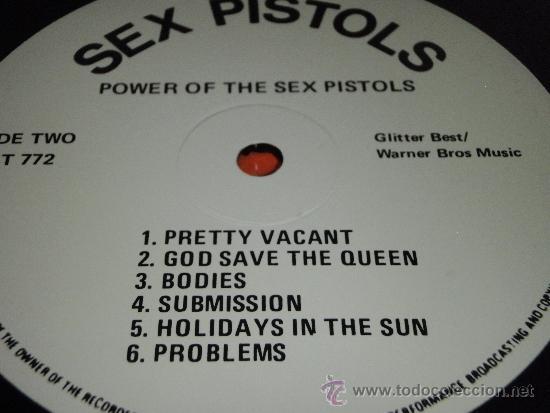 Discos de vinilo: SEX PISTOLS ( POWER OF THE SEX PISTOLS ) ENGLAND-1985 LP33 WARNER BROS MUSIC - Foto 4 - 38459255