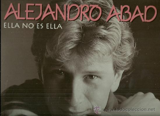 ALEJANDRO ABAD LP SELLO HORUS EDITADO EN ESPAÑA EUROVISION 1984 (Música - Discos - LP Vinilo - Festival de Eurovisión)