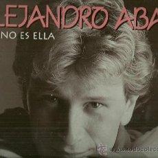 Discos de vinilo: ALEJANDRO ABAD LP SELLO HORUS EDITADO EN ESPAÑA EUROVISION 1984. Lote 38459817