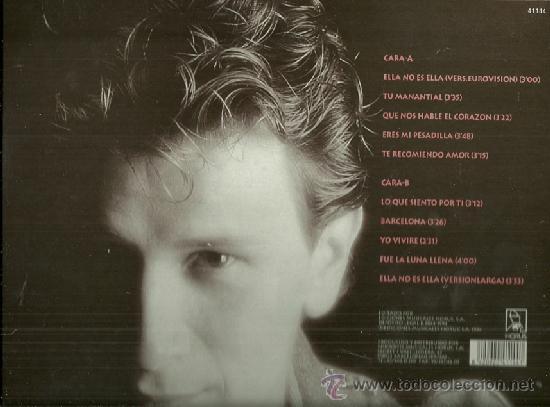 Discos de vinilo: ALEJANDRO ABAD LP SELLO HORUS EDITADO EN ESPAÑA EUROVISION 1984 - Foto 2 - 38459817