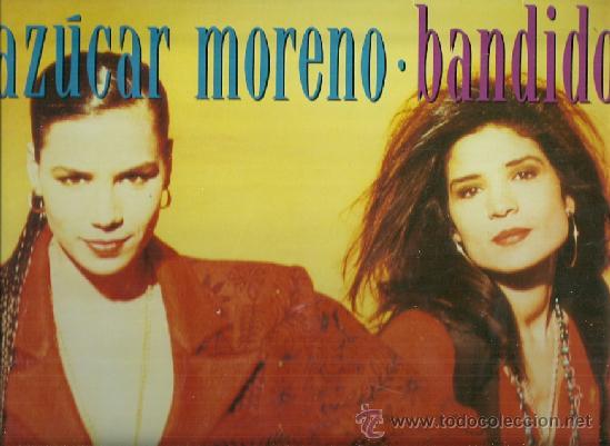AZUCAR MORENO LP SELLO EPIC EDITADO EN ESPAÑA EUROVISION 1990 (Música - Discos - LP Vinilo - Festival de Eurovisión)