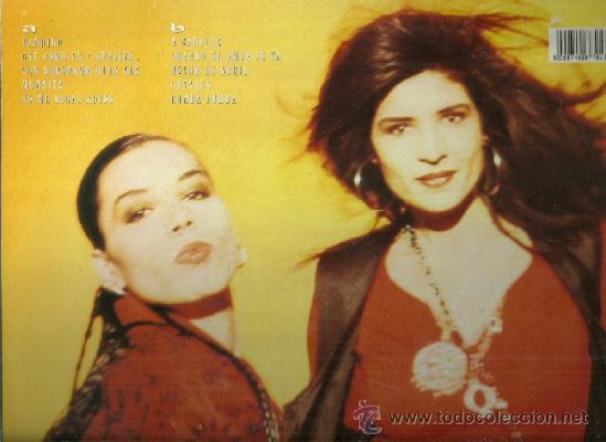 Discos de vinilo: AZUCAR MORENO LP SELLO EPIC EDITADO EN ESPAÑA EUROVISION 1990 - Foto 2 - 38459891