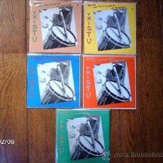 Discos de vinilo: TXISTULARIS DE BERMEO - HERMANOS LARRIÑAGA - LARRIÑAGA ANAIAK . Lote 38466498