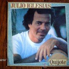 Discos de vinilo: JULIO IGLESIAS - QUIJOTE. Lote 38477258
