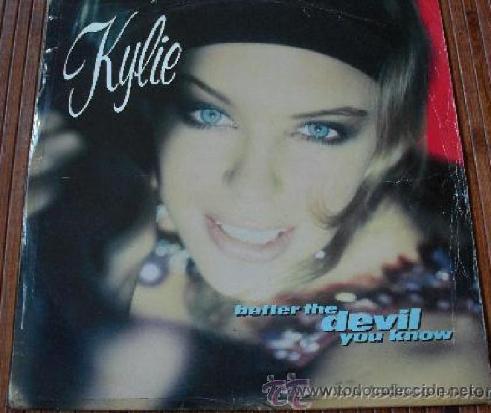 KYLIE MINOGUE - BETTER THE DEVIL YOU KNOW VINILO MAXI SINGLE 1989 (Música - Discos - Singles Vinilo - Pop - Rock Internacional de los 90 a la actualidad)