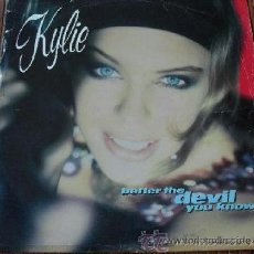 Discos de vinilo: KYLIE MINOGUE - BETTER THE DEVIL YOU KNOW VINILO MAXI SINGLE 1989. Lote 38701370