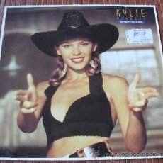 Discos de vinilo: KYLIE MINOGUE - NEVER TOO LATE VINILO MAXI SINGLE 1989. Lote 38701382