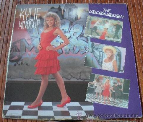 KYLIE MINOGUE - THE LOCOMOTION VINILO MAXI SINGLE 1988 (Música - Discos - Singles Vinilo - Pop - Rock Internacional de los 90 a la actualidad)