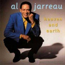 Discos de vinilo: AL JARREAU ··· HEAVEN AND EARTH / BLUE ANGEL (URBAN REMIX) - (SINGLE 45R) ¡NUEVO!. Lote 38485369