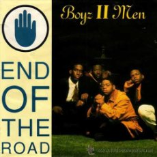 Discos de vinilo: BOYZ II MEN ··· END OF THE ROAD / END OF THE ROAD (INSTRUMENTAL) - (SINGLE 45R). Lote 38485461