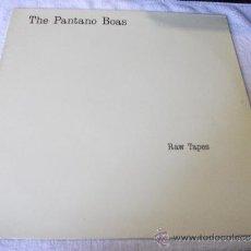 Discos de vinil: THE PANTANO BOAS / RAW TAPES / TRES CIPRESES 1989. Lote 38496822