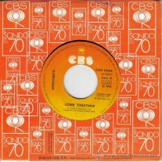 Discos de vinilo: AEROSMITH-COME TOGETHER + REYES Y REINAS SINGLE VINILO SIN PORTADA 1978 SPAIN. Lote 38501291