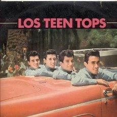 Discos de vinilo: LP 33 RPM / LOS TEEN TOPS// SOLO PORTADA . Lote 38501851