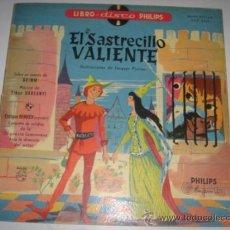 Discos de vinilo: LIBRO DISCO PHILIPS ( EL SASTRECILLO VALIENTE)***ILUSTRACIONES DE JAQUES POIRIER***-FT.AD.. Lote 38504338