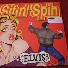Discos de vinilo: SITN' SPIN - ELVIS - PEPPERMIND TWIST --- VINILO COLOR ROJO. Lote 38605970