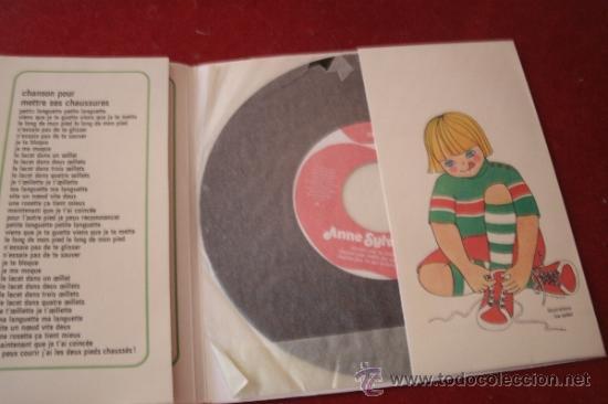 Discos de vinilo: ANNE SYLVESTRE - CHANSONS POUR ......... EDICION FRANCESA - - Foto 2 - 38630799