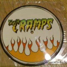 Discos de vinilo: THE CRAMPS FASTER PUSSYCAT PICTURE EP SINGLE DE VINILO NEW ROSE RECORDS. Lote 38506190