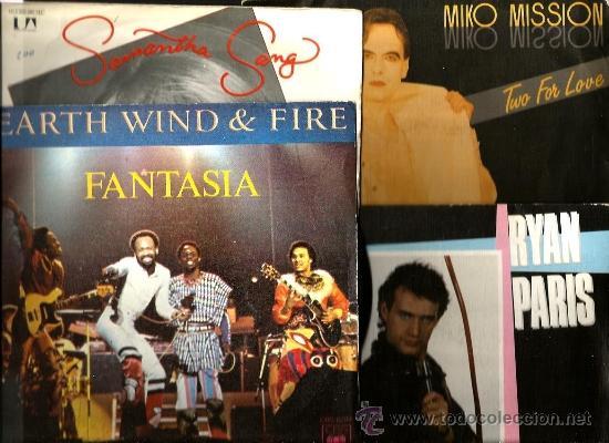 Discos de vinilo: 9 SINGLES: FUNHOUSE + DOLLY DOTS + MOMO YANG + RYAN PARIS + MIKO MISSION + SPAGNA + CARON WHEELER + - Foto 2 - 38514170