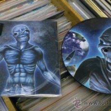 Discos de vinilo: IRON MAIDEN DIFFERENT WORLD FEAR OF THE DARK LIVE SINGLE PICTURE EP ED LIMITADA. Lote 38525281