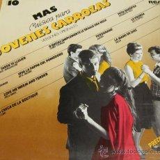 Discos de vinilo: JOVENES CARROZAS 10 - LP - JUNIOR / ARMANDO MANZANERO / LOS FLIPPERS - RCA LINEATRES 1984 SPAIN. Lote 38529298