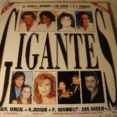 Discos de vinilo: DISCO ORIGINAL LP DOBLE GIGANTE. Lote 43553552