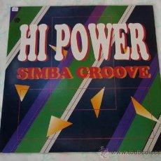 Discos de vinil: HI POWER ( SIMBA GROOVE 2 VERSIONES - CULT OF SNAP 2 VERSIONES ) 1990-GERMANY MAXI ZYX RECORD. Lote 38538953