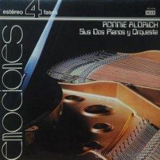 Discos de vinilo: EMOCIONES - RONNIE ALDRICH SUS DOS PIANOS Y ORQUESTA - LP. Lote 38598981