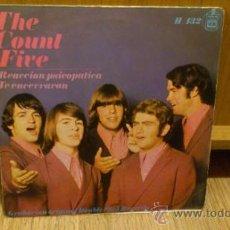 Discos de vinilo: THE COUNT FIVE REACCION PSICOPATICA TE ENCERRARAN EP VINILO 7 PULGADAS PSICODELIA GARAGE . Lote 38540484