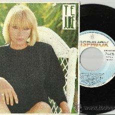 Discos de vinilo: MARI TRINI SINGLE TE JURE ESPAÑA 1987. Lote 38572326