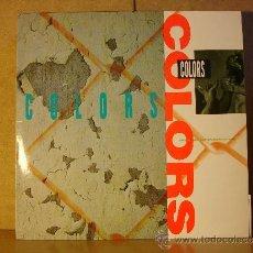 Discos de vinilo: ICE-T / SALT-N-PEPA / KOOL G. RAP Y MAS - COLORS - WARNER BROS 925 713-1 - 1988 - OST. Lote 50155437