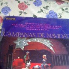 Discos de vinilo: CAMPANAS DE NAVIDAD. EMI BONILLA Y ANA MARIA. SIMON SERRANO Y LOS CAMPANILLEROS DE LA NAVIDAD .C5V. Lote 38574013