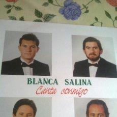 Discos de vinilo: BLANCA SALINA CANTA CONMIGO. A TI, MUJER... C1V. Lote 38574123