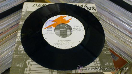 Discos de vinilo: Derribos arias Disco Pocho Ep Vinilo de 7 pulgadas Grabaciones accidentales 1984 - Foto 3 - 38578340