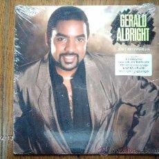 Discos de vinilo: GERALD ALBRIGHT - JUST BETWEEN US . Lote 38585829
