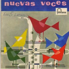 Discos de vinilo: LOS 5 LATINOS 7' EP CACHITO +3, SPANISH. Lote 38590279