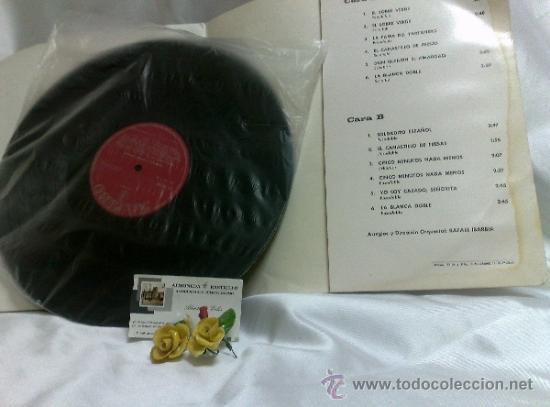Discos de vinilo: AÑO 1968.-HOMENAJE AL MAESTRO GUERRERO.- ARREGLOS Y DIRECCIÓN ORQUESTAL RAFAEL IBARBIA. - Foto 6 - 38585531
