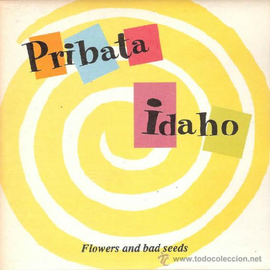 Discos de vinilo: PRIBATA IDAHO - ALONE IN THE CLOUDS / FLOWES AND BAD SEEDS (45 RPM) ELEFANT 1996 - EX/EX+ - Foto 1 - 38595055