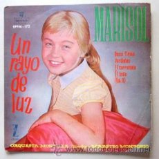 Discos de vinilo: MARISOL - UN RAYO DE LUZ - 1960. Lote 38599714