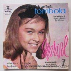 Discos de vinilo: MARISOL - DE LA PELÍCULA TÓMBOLA - 1962. Lote 38599729