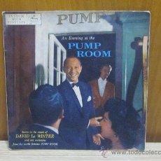 Discos de vinilo: DAVID LE WINTER Y SU OPRQUESTA / PUMP ROOM (EP). Lote 38605215