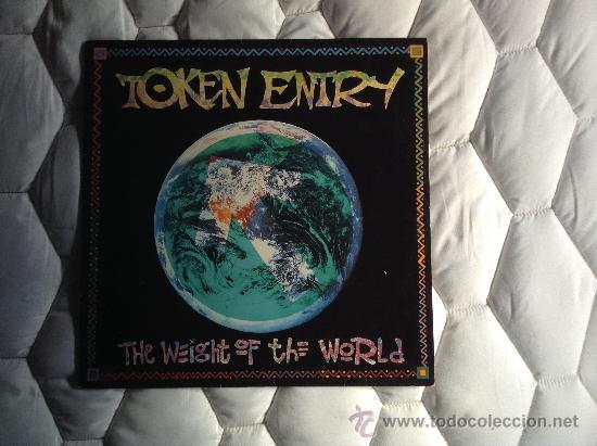 TOKEN ENTRY - THE WEIGHT OF THE WORLD (LP, ALBUM) (EMERGO) (Música - Discos - LP Vinilo - Punk - Hard Core)