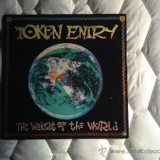 Discos de vinilo: TOKEN ENTRY - THE WEIGHT OF THE WORLD (LP, ALBUM) (EMERGO). Lote 38613418