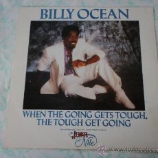 Discos de vinilo: THE JEWEL OF THE NILE BILLY OCEAN ( WHEN THE GOING GETS TOUGH,THE TOUGH GET GOING 4 VERSIONES ) . Lote 38615560