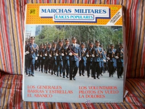 LP ORQUESTA MARAVELLA : MARCHAS MILITARES , RAICES POPULARES (Música - Discos - LP Vinilo - Clásica, Ópera, Zarzuela y Marchas)