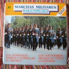 Discos de vinilo: LP ORQUESTA MARAVELLA : MARCHAS MILITARES , RAICES POPULARES . Lote 38616798