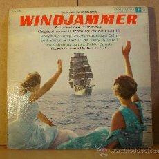 Discos de vinilo: MORTON GOULD - WINDJAMMER (BANDA SONORA ORIGINAL DE LA PELICULA) - COLUMBIA CL 1158 - RARO. Lote 38620966