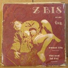 Discos de vinilo: Z BIS - SWEET LIFE / THE END - VICTORIA SS-159 - 1974 - ULTRA RARO PSICODELIA DE LOS 70. Lote 38621247